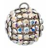 Swarovski Pendant 40512 Round 12mm Aurora Borealis Crystal